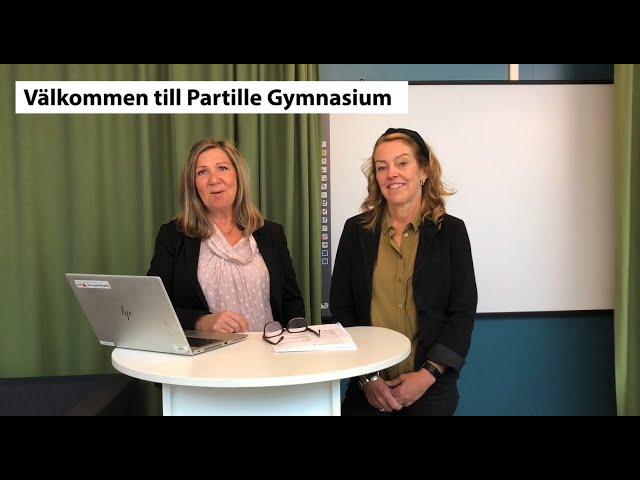 Videouttalande av Partille Svenska