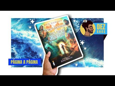 PERCY JACKSON & OS DEUSES GREGOS | Página por Página | BOOKCRUSHES