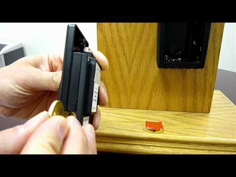 NuSet 2034 A to Z LockBox: Lock, Unlock and Reset Lid Combination Instructions
