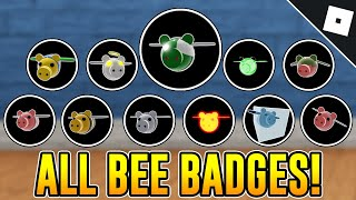 How To Get ALL 11 BEE EVENT BADGES In PIGGY RP : INFECTION | Roblox