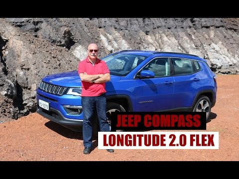 Jeep Compass Longitude 2.0 Flex - Teste por Emilio Camanzi