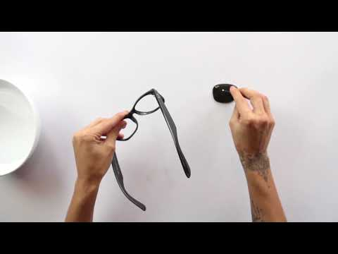 How To Replace Sunglass Lenses - Hard Plastic Frames