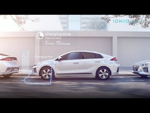 Hyundai  Ioniq Electric Хетчбек класса C - рекламное видео 1