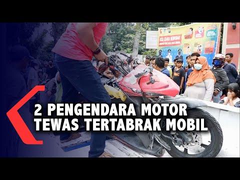 Kecelakaan Beruntun, 2 Orang Pengendara Sepeda Motor Meninggal Dunia