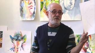 California Vibe Watercolor Portraiture Workshop