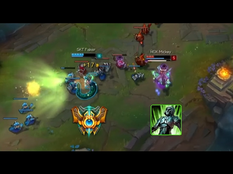 LoL Best Moments #153 How to use Cassiopeia-R (League of Legends)