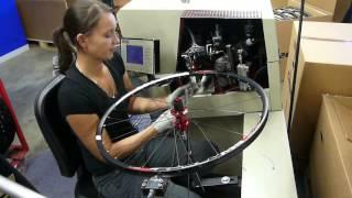 Bicycle wheel Lacing time sample