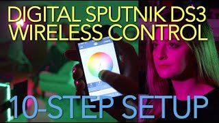 10-Step Setup: Digital Sputnik DS3 + Wireless App