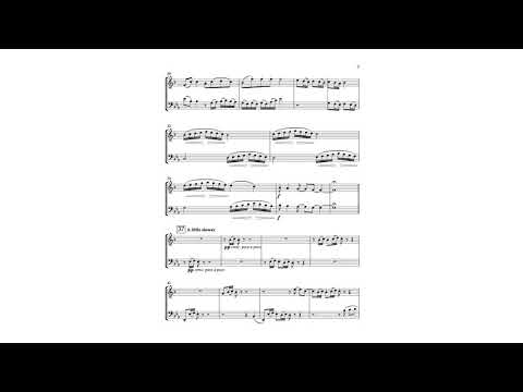 This is an original composition I was commissioned to compose for Tenor Saxophone and Bassoon.