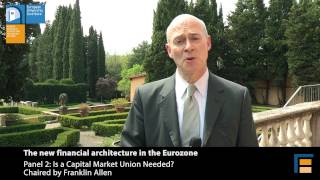 Franklin Allen | Is a Capital Markets Union Needed? Panel 2