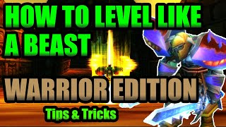 Classic Warrior Leveling Guide | TIPS & TRICKS for Leveling a Warrior In Classic WoW!