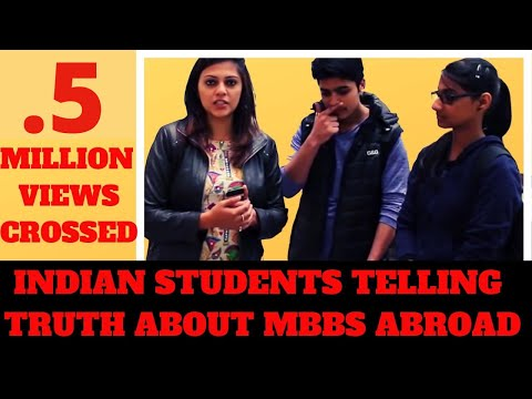 Video Indian Students telling the truth about studying MBBS abroad | Yukti Belwal