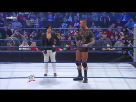 Randy Orton Interupts Vickie Guerrero And Hits An RKO