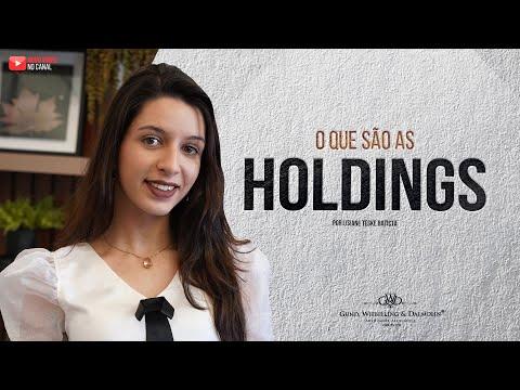 O que são as holdings?