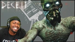 When Being The Infected Goes WRONG! - Deceit Gameplay