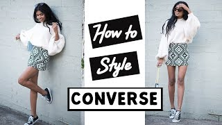 HOW TO STYLE: CONVERSE SNEAKERS   POSE & REPEAT
