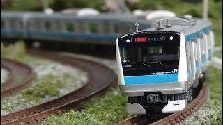Nゲージ E233系1000番台 京浜東北線 (KATO) 走行シーン集②