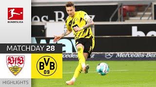 Stuttgart 2-3 Borussia Dortmund Pekan 28