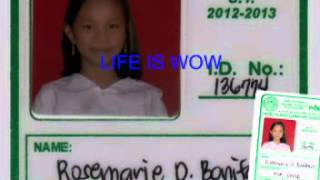 MP3 VIDEO - LIFE IS WOW (CHARICE PEMPENGCO)