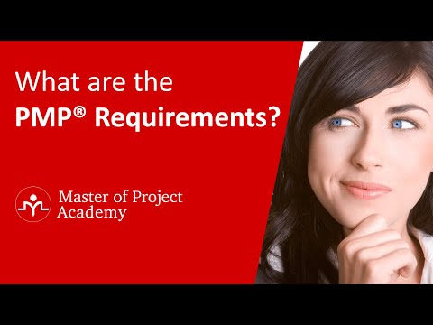 PMP® Certification Requirements - YouTube