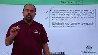 SAP PP - Production Order