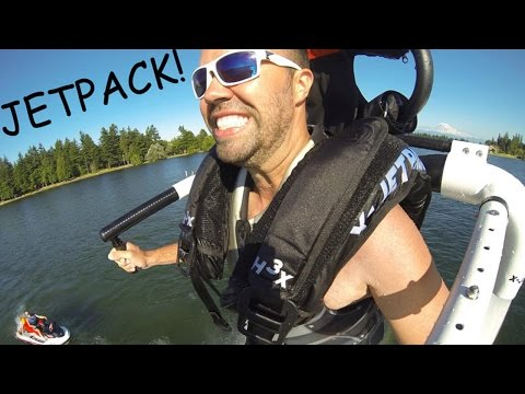 H3X Water Jetpack! | Use Your Jetski For Personal Flight!
