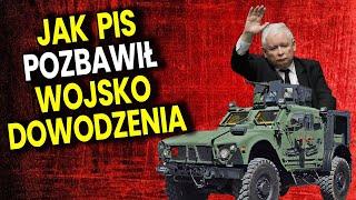 PIS Pozbawił Wojsko Polskie Dowodzenia! Wojskowy Wyjaśnia Jak To Możliwe! Analiza Komentator Finanse