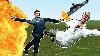 BUILDING A NUCLEAR SHELTER! | Garry's Mod Gameplay | Gmod Roleplay (Kid Friendly Fun Gaming!)