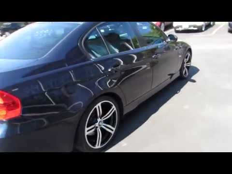 2010 BMW 3 SERIES RIDING ON 18 INCH BLACK & MACHINED M6 RIMS & TIRES