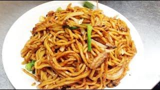 Chinese Stir Fried Vegetable Lo Mein Noodles Recipe 青菜炒麵 by CiCi Li