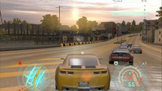Геймплей Need for Speed: Undercove - Camaro