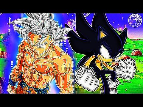 ULTRA SONIC vs ULTRA INSTINCT GOKU! Animated Movie | (Sonic vs Goku