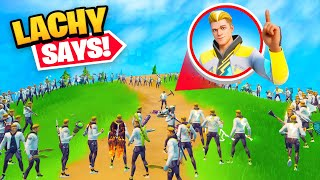 100 Player Lachlan Says... but EVERYONE is Lachlan!