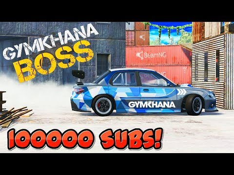LIKE A BOSS Stunts | 100000 Subscribers Special | BeamNG Drive