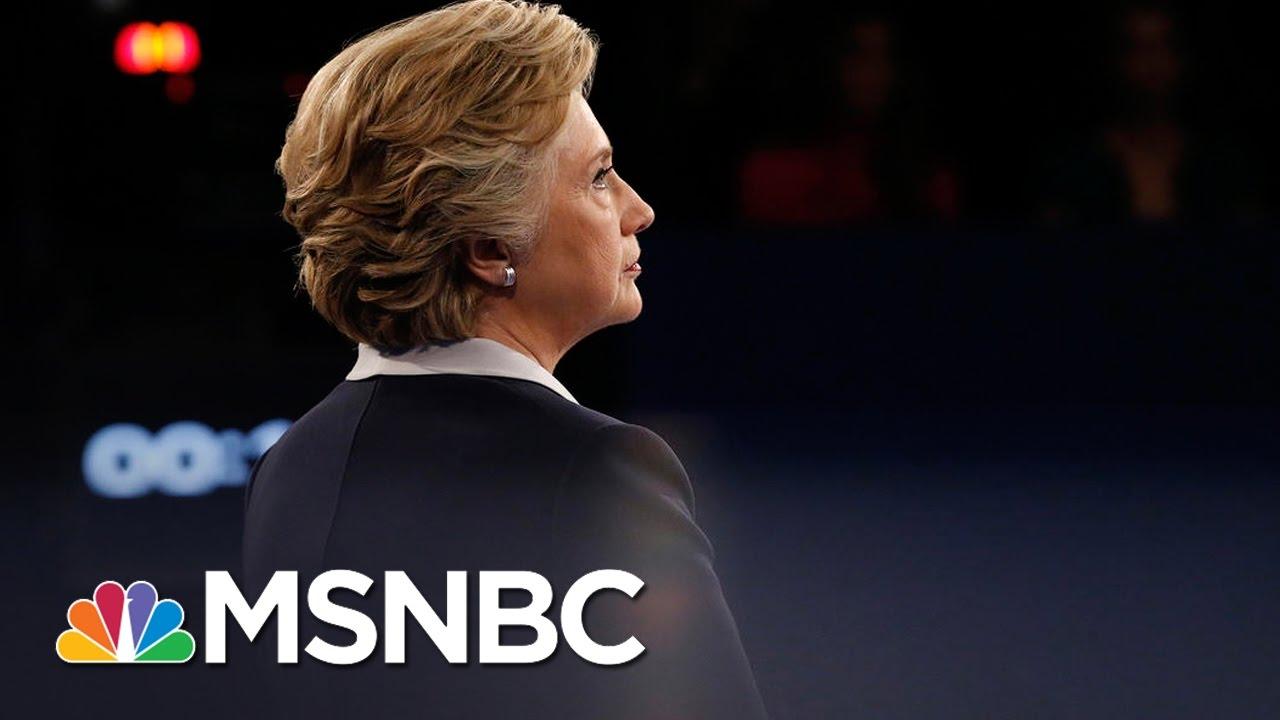 Donald Trump Backtracks On Pledge To Investigate Hillary Clinton | MSNBC thumbnail