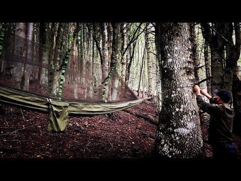 Amaca per bushcraft camping outdoor - review (ITA)