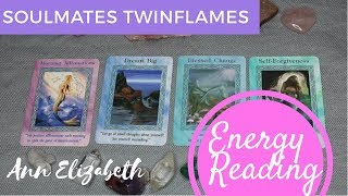 Soulmates Energy Update - Blessings in Abundance, Dreams Manifesting Divine Union