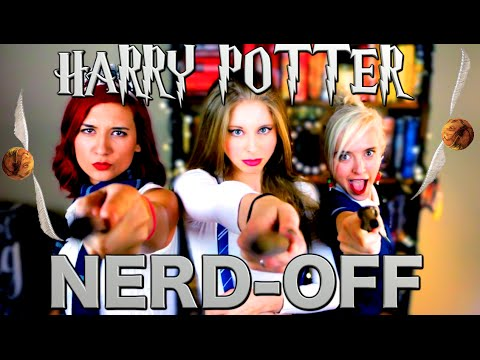 HARRY POTTER NERD OFF with Brizzy Voices & Tessa Netting   XTINEMAY