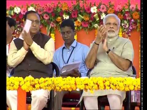 PM Modi laid Foundation Stone of Greenfield Airport at Rajkot, Gujarat
