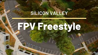 A little FPV Freestyle in Silicon Valley