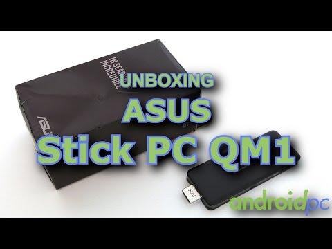 Unboxing: Micro ordenador ASUS Stick PC QM1