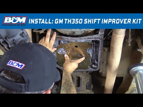 Install: B&M Shift Improver Kit 30262 for 1968-81 GM TH350 Automatic Transmissions