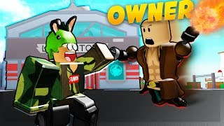 1V1'ING THE OWNER OF THE GAME! (ROBLOX SUPERHERO CITY)
