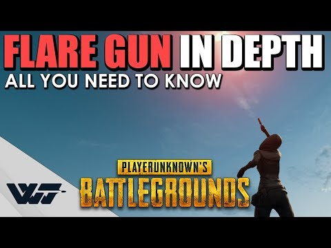 GUIDE: FLARE GUN - All you need to know - PUBG (видео)