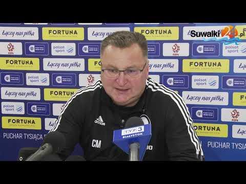 Wigry Suwałki - Legia Warszawa 1:3. To był zacięty mecz