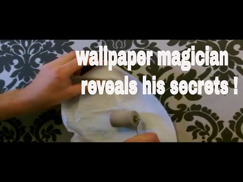 top tip how to roll wallpaper seams