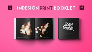 Adobe InDesign Tutorial - Booklet Layout For Print InDesign Tutorial