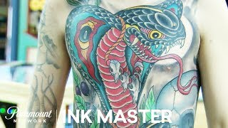 Cleen Rock One's Winning 35 Hour Master Canvas | Ink Master: Grudge Match (Season 11)