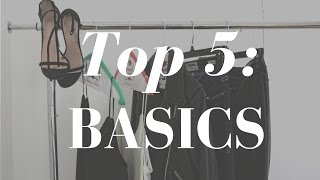 Top 5: Basic Pieces Every Girl Should Have In Their Closet