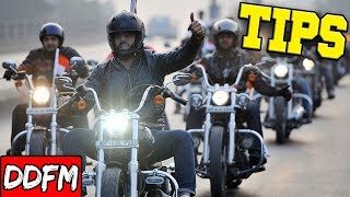 Simple Tips for Motorcycle Group Riding